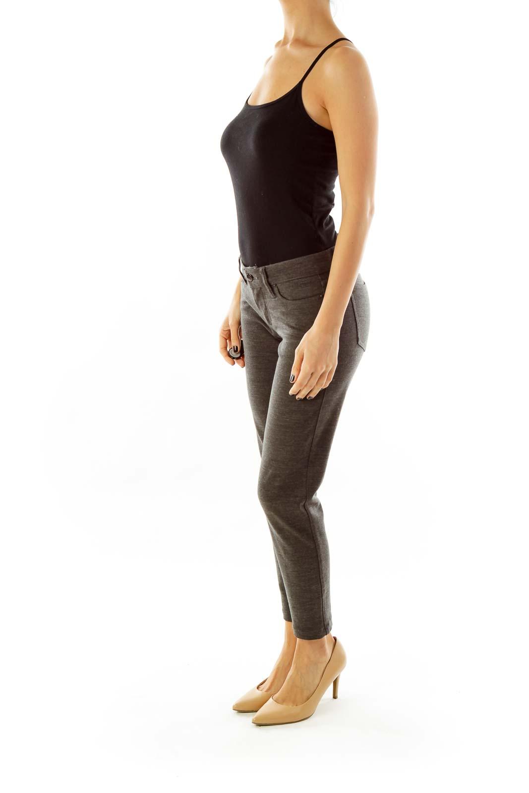 Grey Stretch Pants