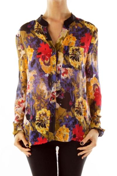 Multicolor Floral Blouse