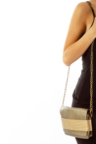 Bronze Crossbody Bag