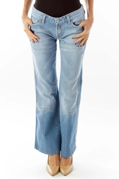 Blue Denim Pant