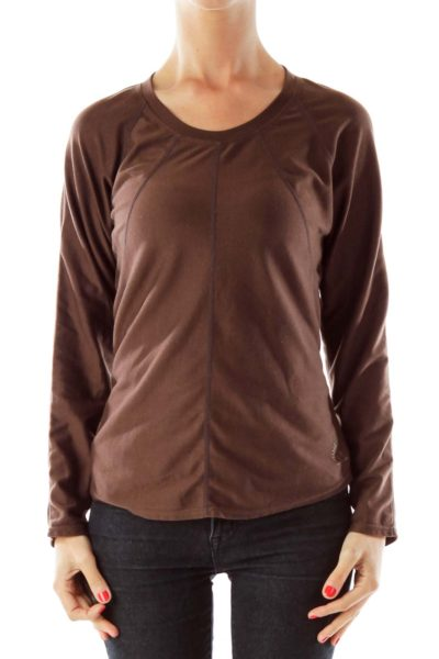 Brown Ski Top