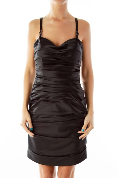 Black Fitted LBD