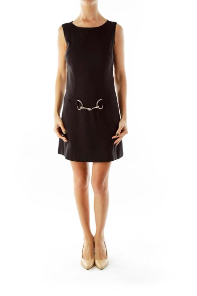 Black Linked Dress