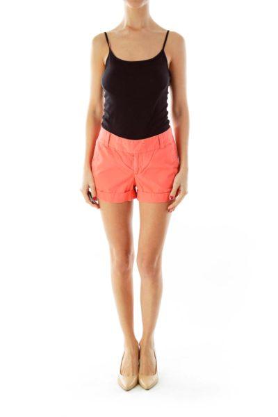 Orange Short Shorts