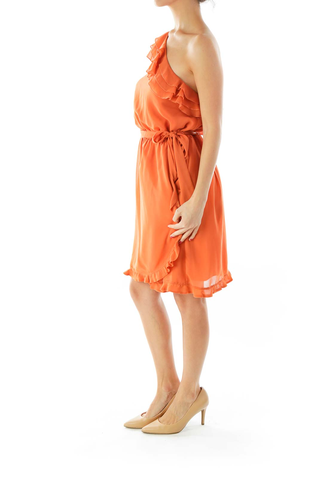 Orange Day Dress