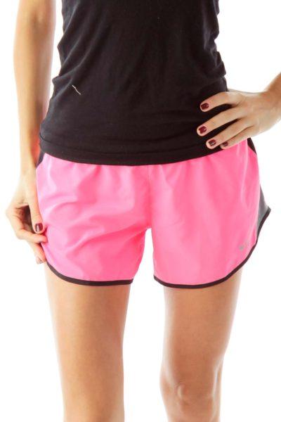 Pink Sports Shorts