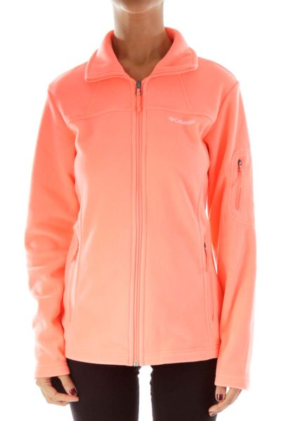 Coral Fleece Fitted Sports Jacket