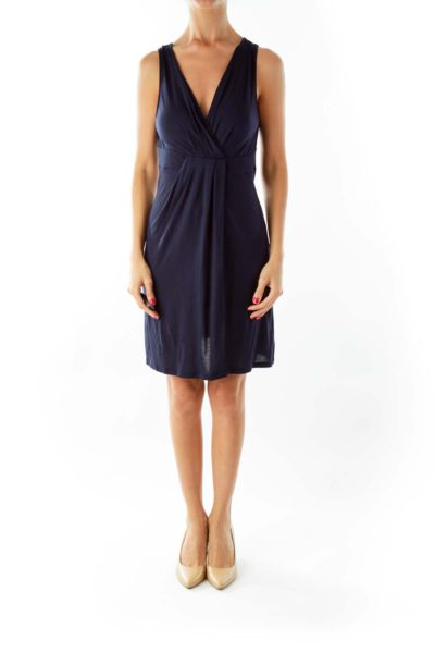 Navy Tank Top Dress