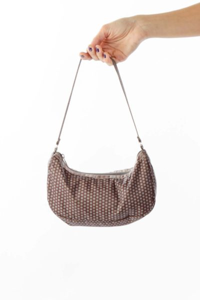 Polka-Dot Shoulder Bag