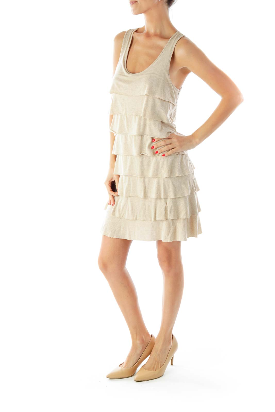 Brown Sparkle Dress