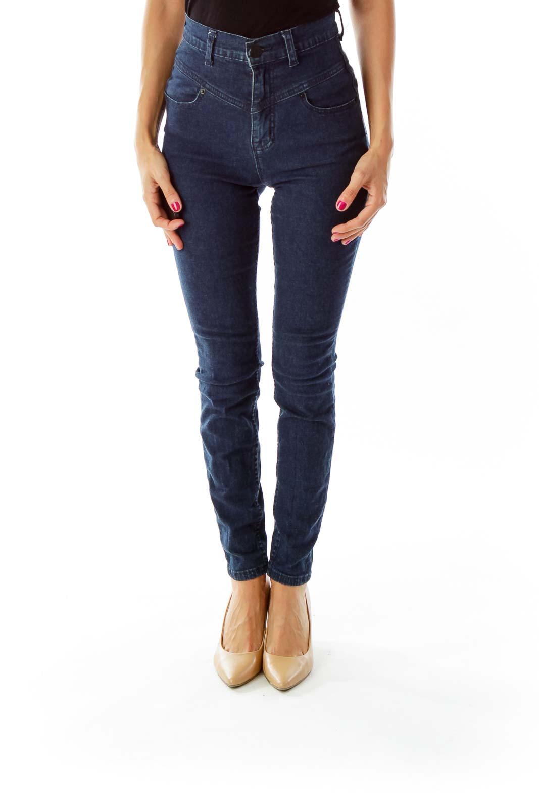 Ultra High Waisted Skinny Jeans