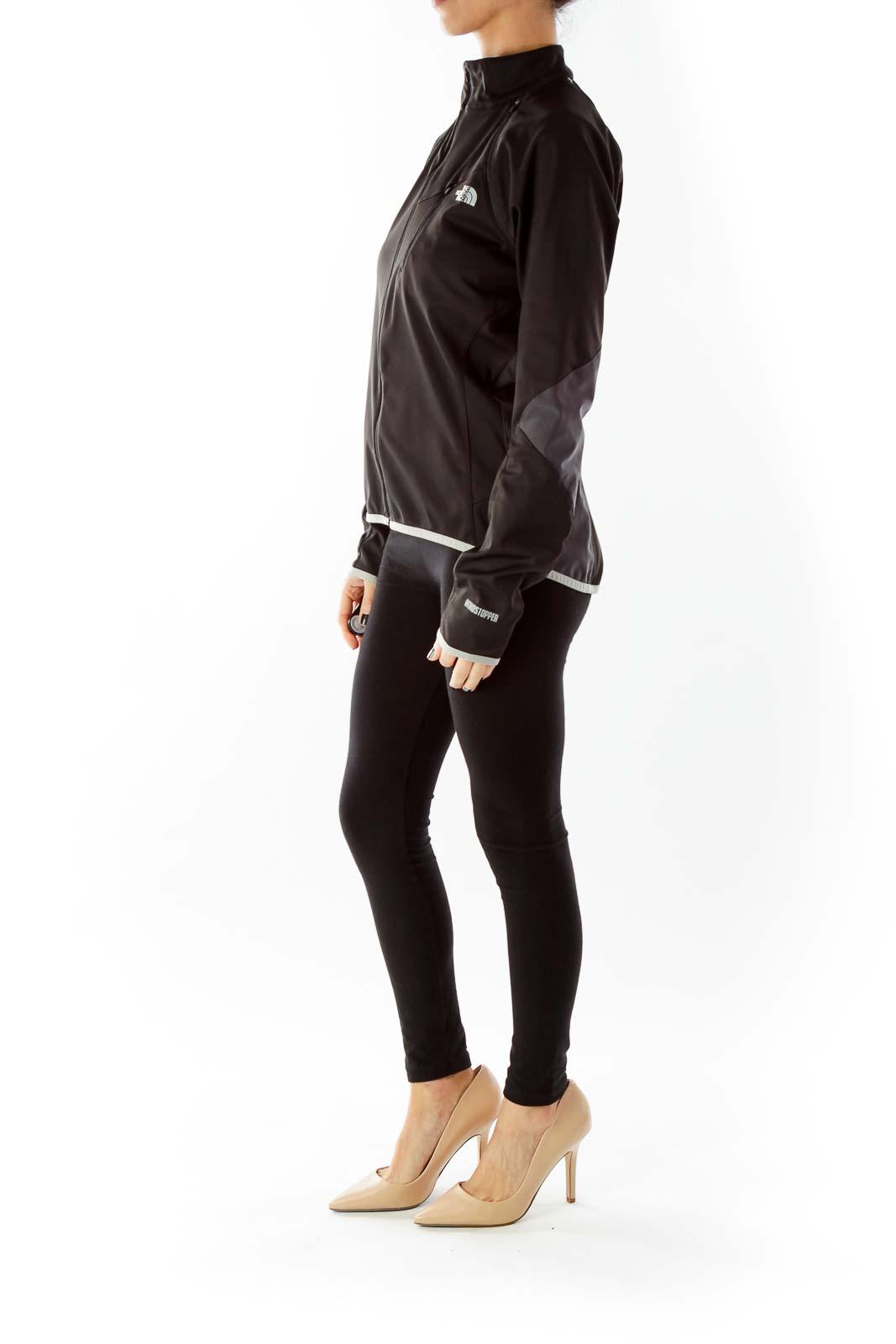 Black Gray Sport Jacket