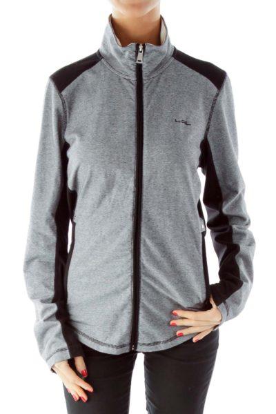 Black White Pinstripe Sports Jacket