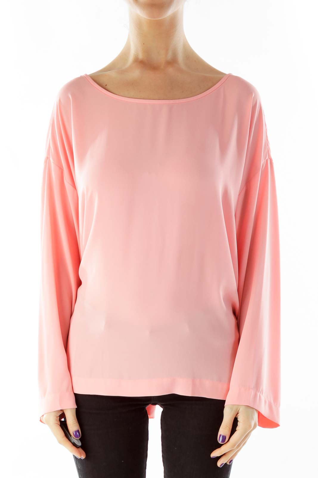 Pink Loose Blouse