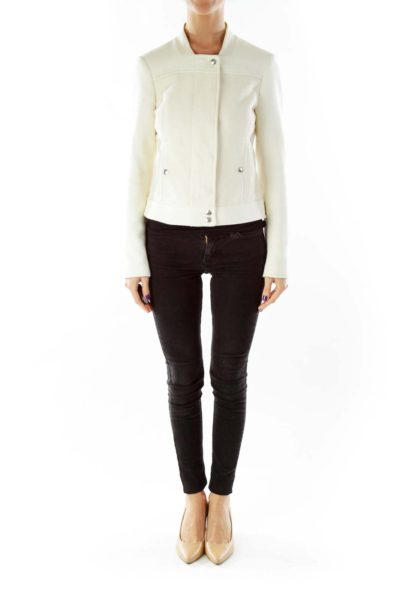 Cream Two-Tone Jacket