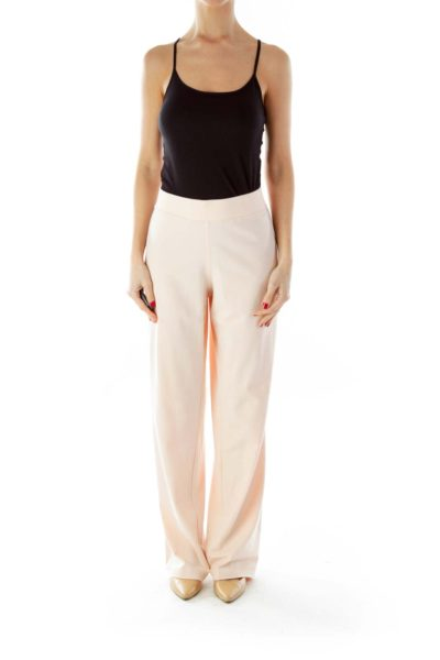 Peach Loose Sports Pants
