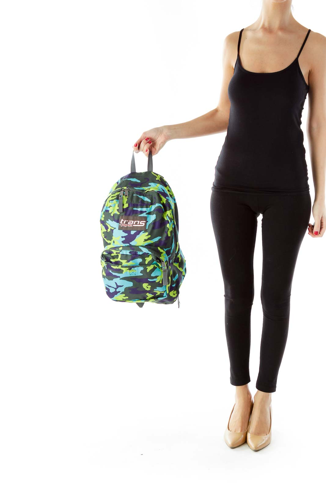 Multicolor Camouflage Backpack