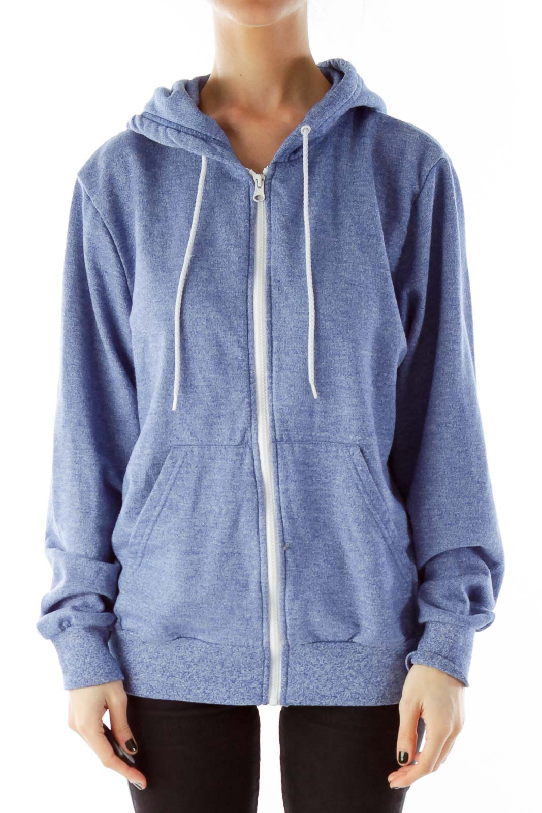 Blue Zippered Jacket