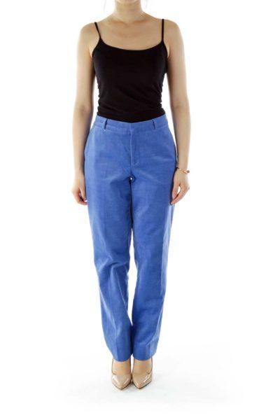 Blue Corduroy Pants