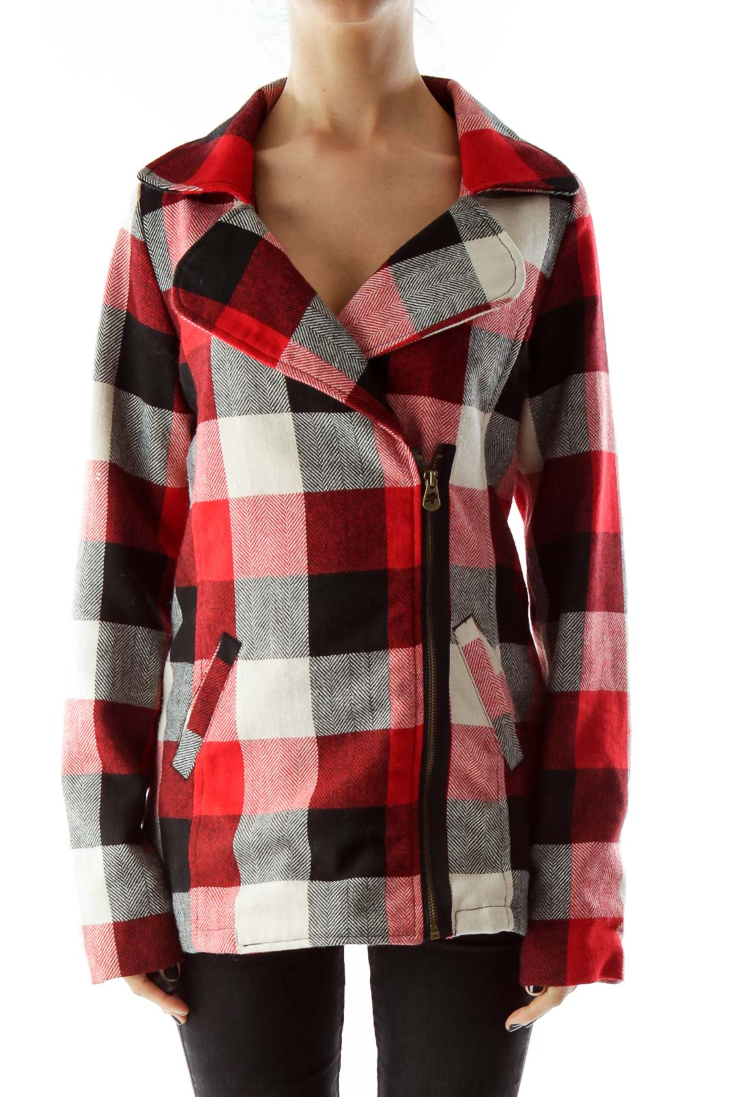 Multicolor Plaid Jacket