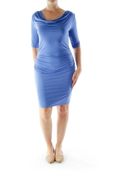 Periwinkle Day Dress