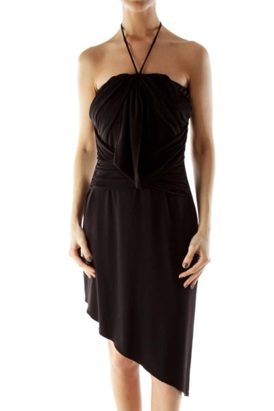 Black Fitted Cocktail Dress