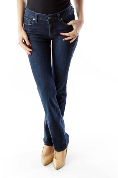 Navy Brooke Boot Jeans