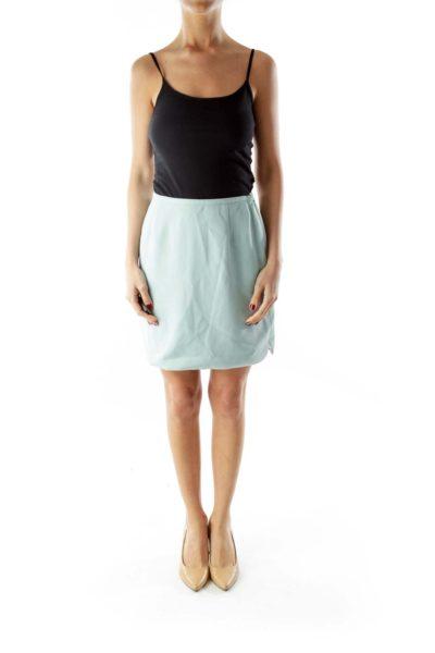 Mint Suit Skirt