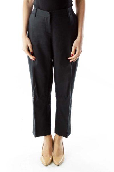 Black High-Waisted Pants