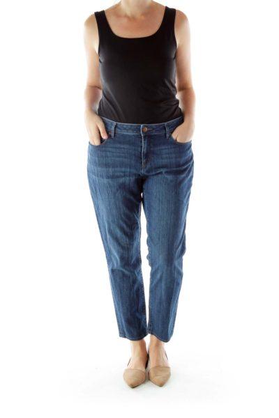 Medium Wash Denim Pants