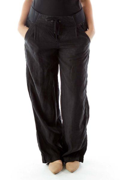 Black Active Pants