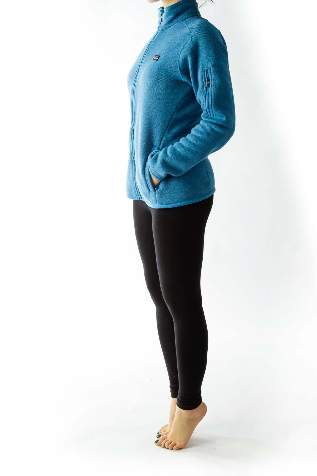 Blue Fleece Sweater