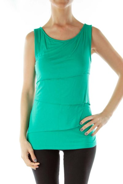 Emerald Green Tiered Tank