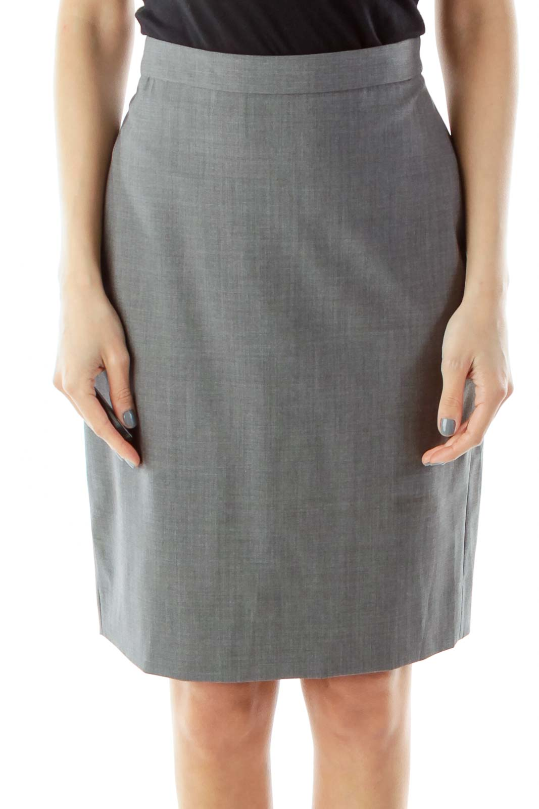 f751a3f3a Shop Gray Pencil Skirt clothing and handbags at SilkRoll. Trade with us!