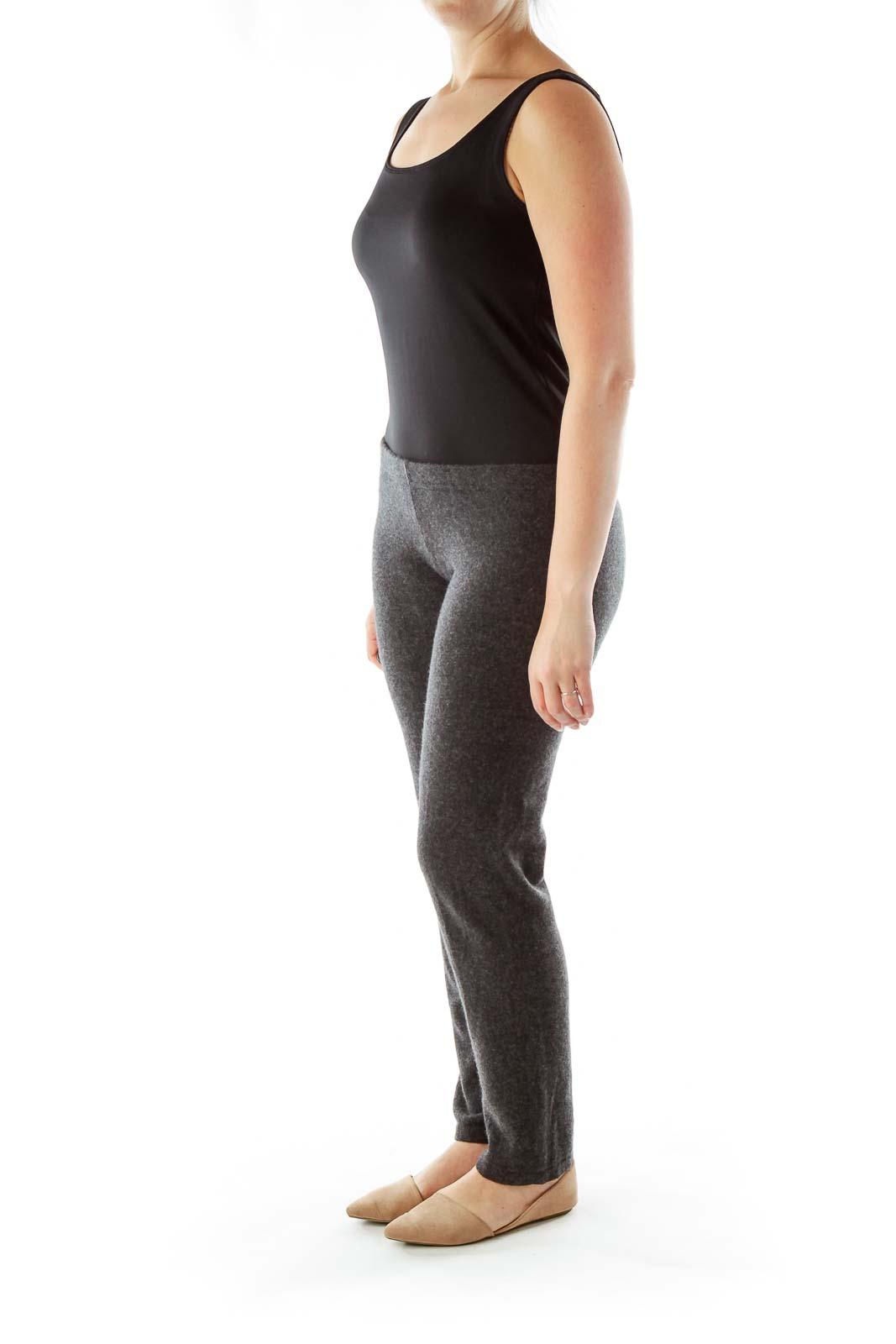 Gray Cashmere Leggings
