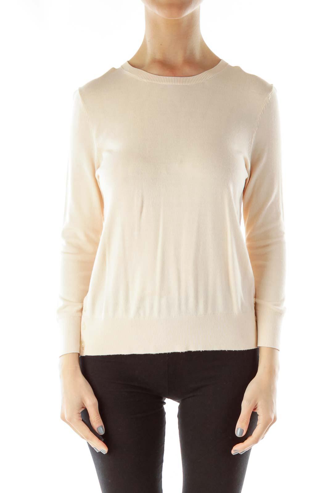 Pink 3/4 Sleeve Sweater