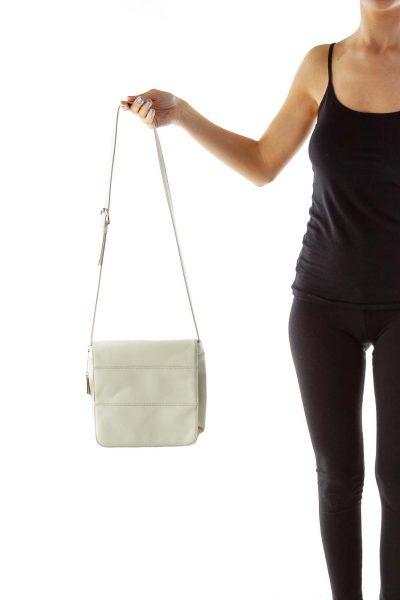 Beige Crossbody Bag