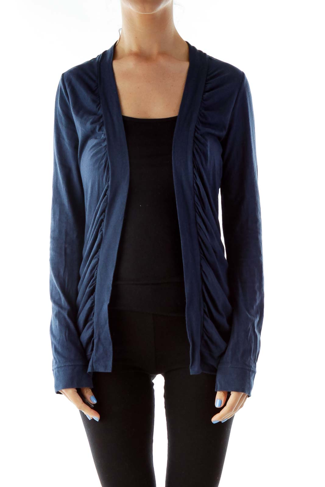Navy Fitted Jacket