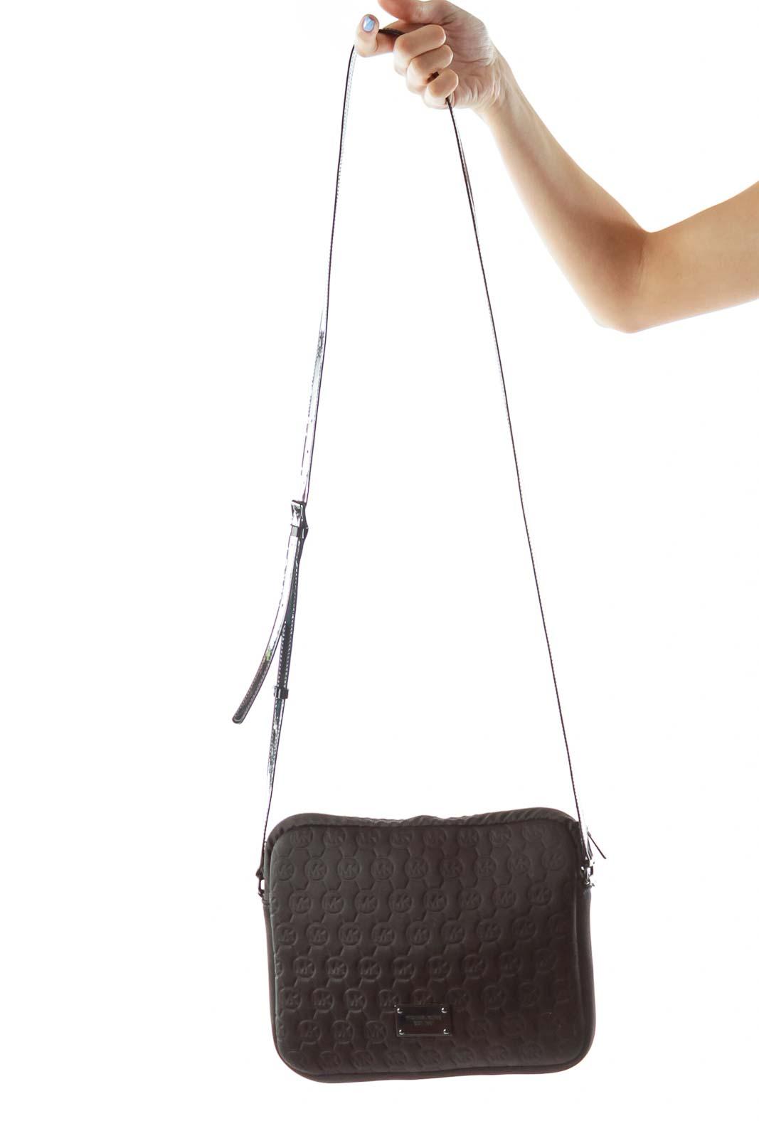 121f9151184 Shop Black Embossed Crossbody Bag clothing and handbags at SilkRoll ...