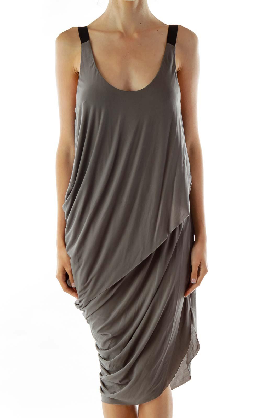 Green Sleeveless Day Dress