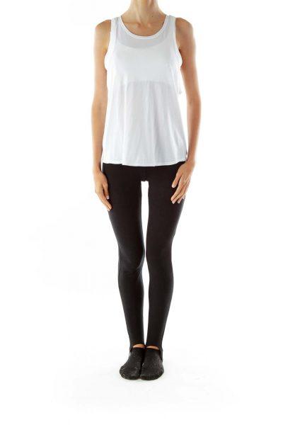 White Yoga Top