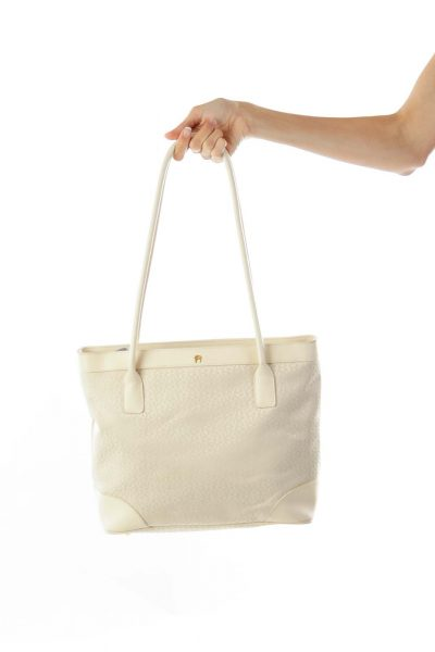 Cream Bag w/ Small case