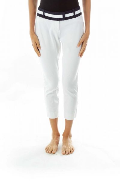 White Skinny Pants