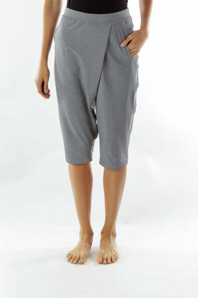 Gray Pocketed Legging