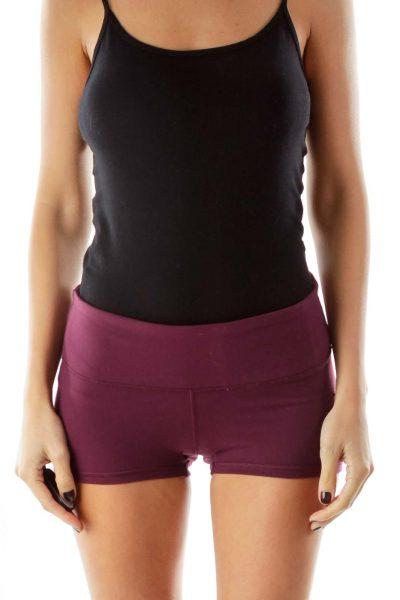 Purple Sports Shorts