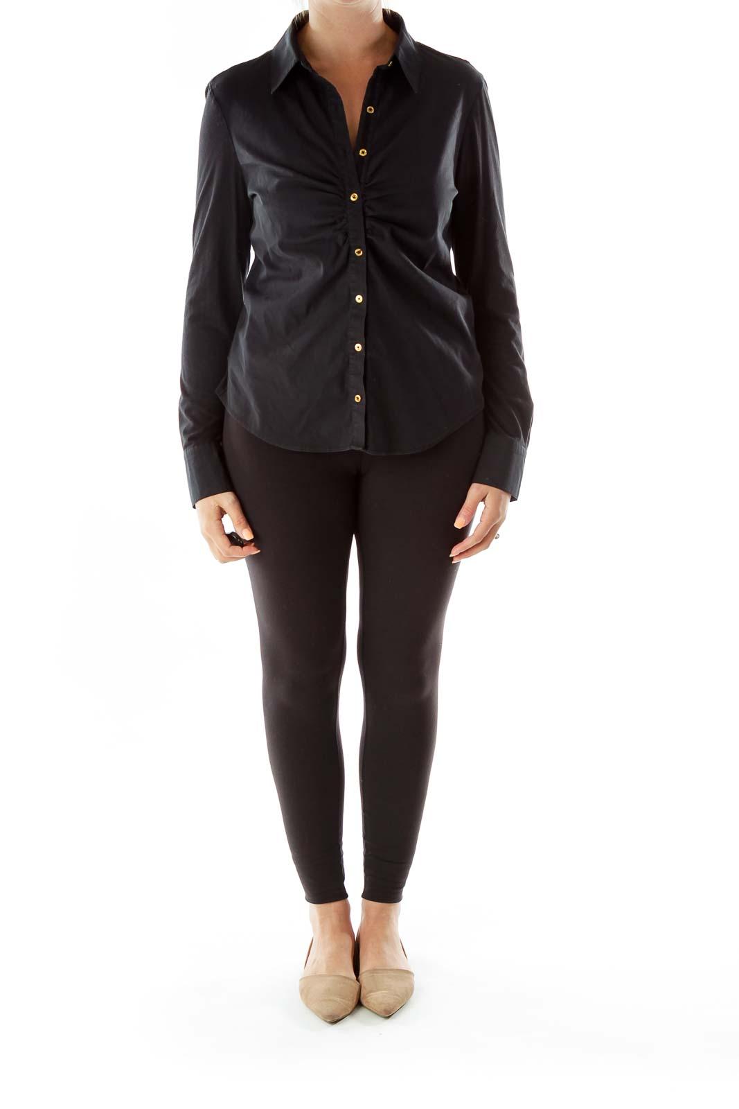 Black Collared Shirt