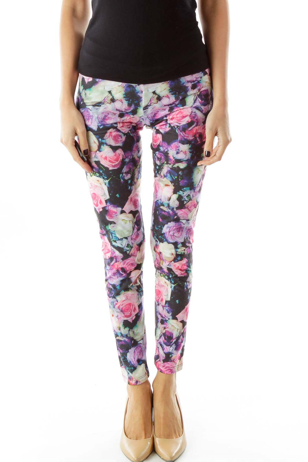 Multicolor Floral Leggings