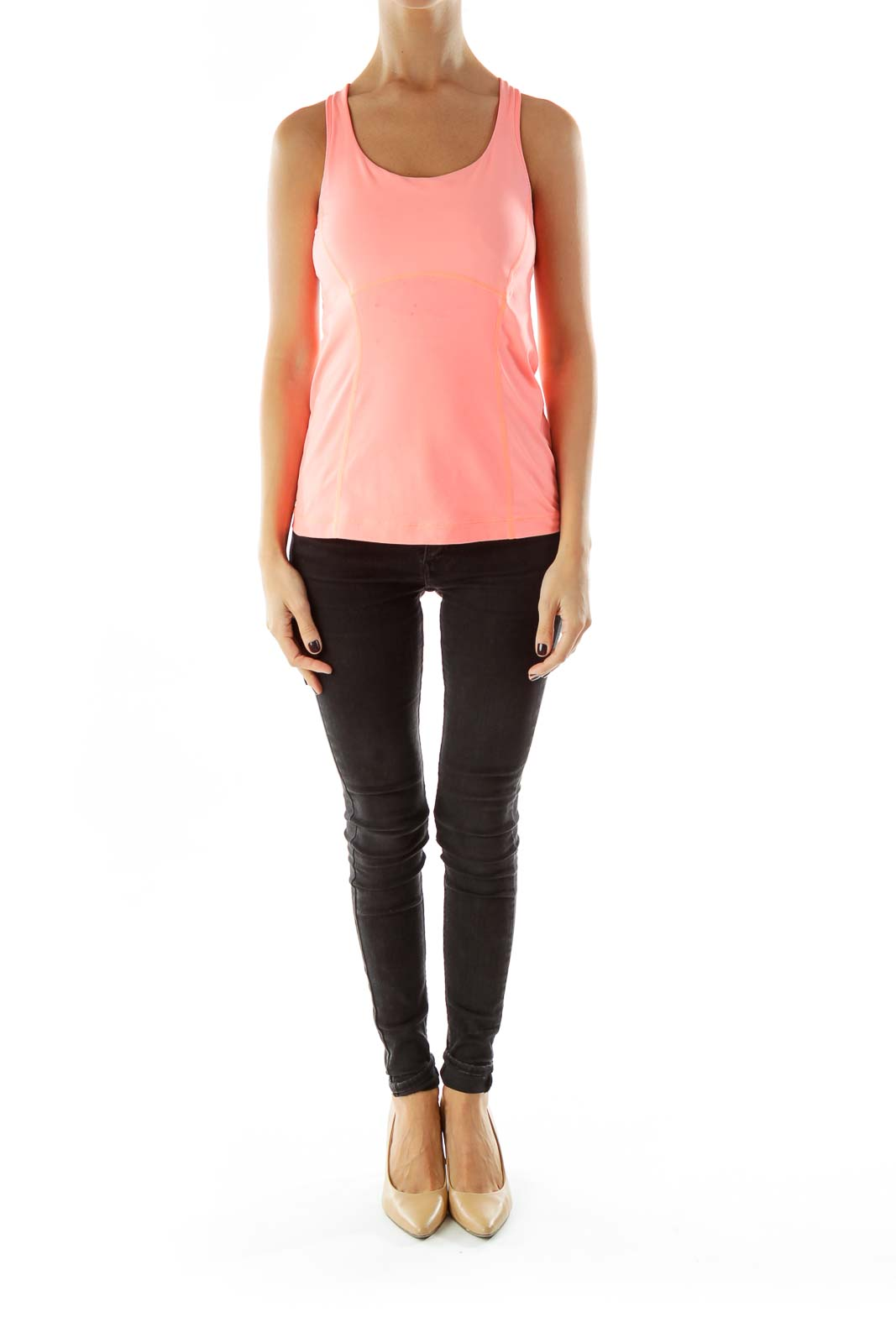 Pink Yoga Top