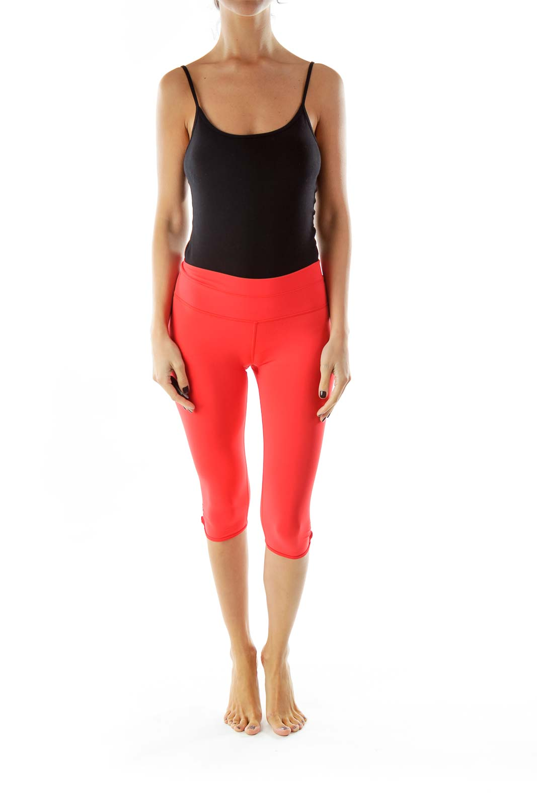 Pink Scrunched Sports Pants