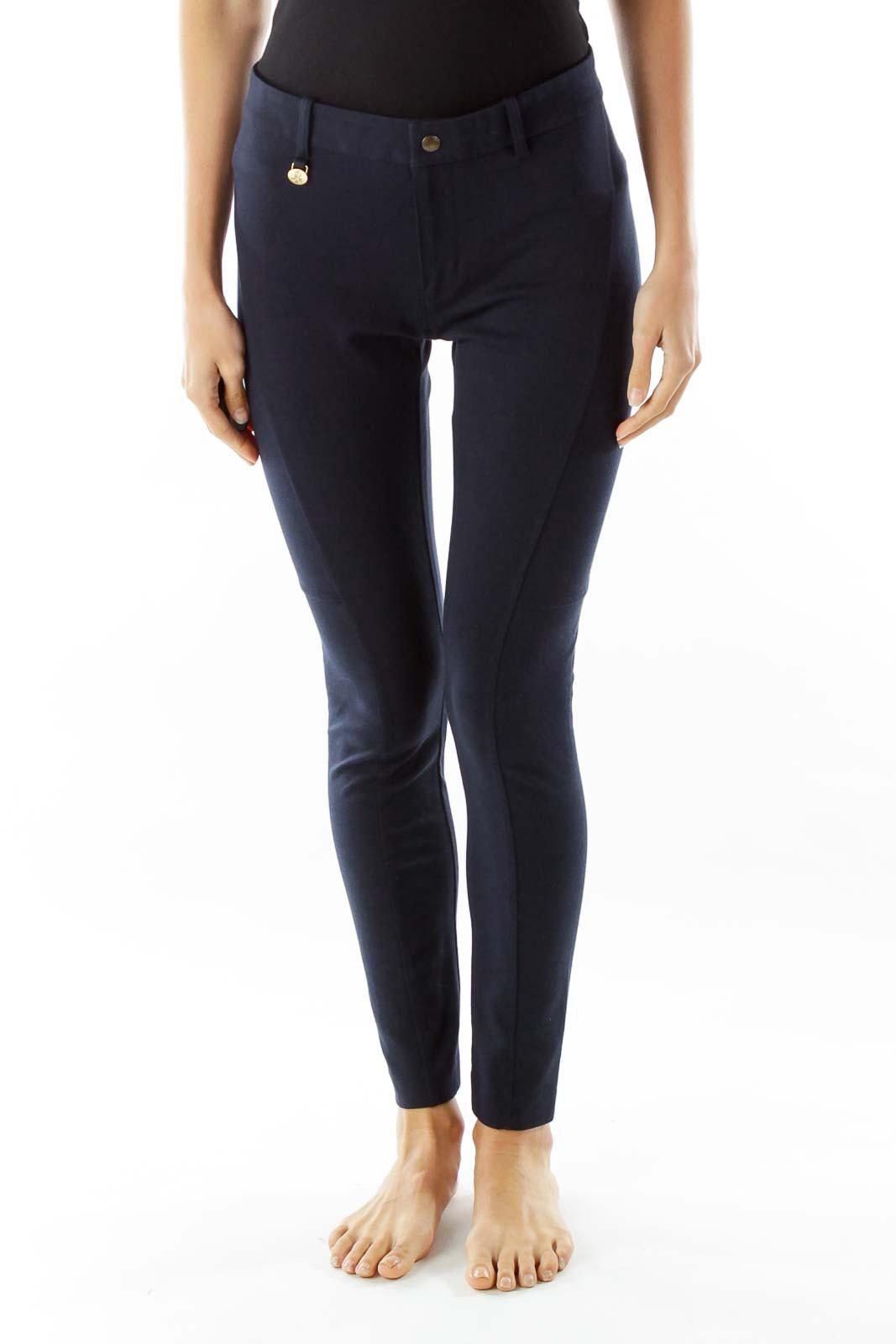 Navy Skinny Pants
